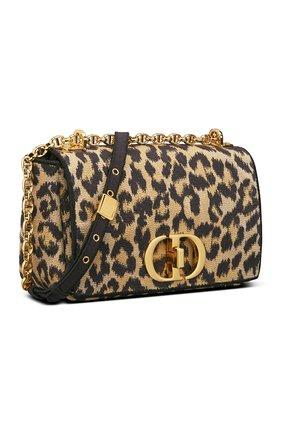Женская сумка dior caro medium DIOR бежевого цвета, арт. M9242URHWM918   Фото 2 (Материал: Текстиль; Сумки-технические: Сумки через плечо; Женское Кросс-КТ: Вечерняя сумка; Размер: medium)