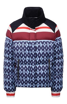 Женский пуховая куртка VALENTINO синего цвета, арт. WB3CN0156LL   Фото 1 (Материал подклада: Синтетический материал; Длина (верхняя одежда): Короткие; Материал внешний: Синтетический материал; Рукава: Длинные; Материал утеплителя: Пух и перо; Стили: Спорт-шик; Кросс-КТ: Пуховик)
