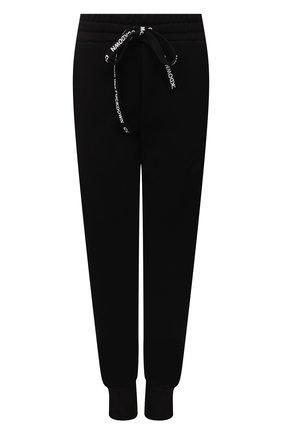 Женские хлопковые джоггеры COMME DES FUCKDOWN черного цвета, арт. CDFD1604   Фото 1 (Материал внешний: Хлопок; Длина (брюки, джинсы): Стандартные; Стили: Спорт-шик; Женское Кросс-КТ: Джоггеры - брюки, Брюки-спорт; Силуэт Ж (брюки и джинсы): Джоггеры)