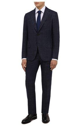Мужские кожаные оксфорды ZEGNA COUTURE черного цвета, арт. A5082X-LHB0C   Фото 2 (Материал внутренний: Натуральная кожа; Стили: Классический)