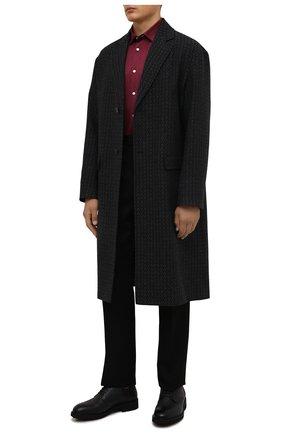 Мужские кожаные дерби ERMENEGILDO ZEGNA черного цвета, арт. A4747X-LHGSW | Фото 2 (Материал утеплителя: Натуральный мех; Стили: Классический)