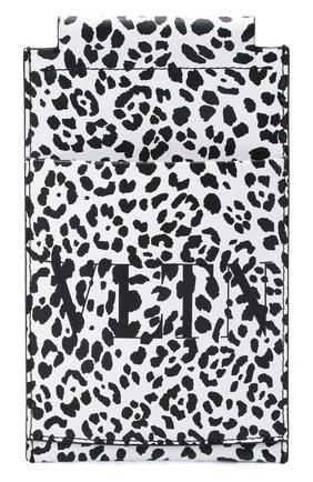 Мужской кожаный футляр для кредитных карт VALENTINO белого цвета, арт. WY0P0T13/MHK | Фото 1 (Материал: Натуральная кожа)