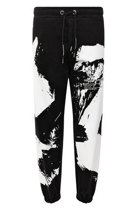 Мужские хлопковые джоггеры COMME DES FUCKDOWN черного цвета, арт. CDFU1267 | Фото 1 (Длина (брюки, джинсы): Стандартные; Материал внешний: Хлопок; Силуэт М (брюки): Джоггеры; Кросс-КТ: Спорт; Стили: Спорт-шик; Мужское Кросс-КТ: Брюки-трикотаж)
