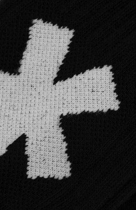 Мужские хлопковые носки COMME DES FUCKDOWN черного цвета, арт. CDFA577   Фото 2 (Материал внешний: Хлопок; Кросс-КТ: бельё)