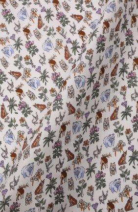 Мужской шелковый платок ETON белого цвета, арт. A000 33121 | Фото 2 (Материал: Шелк, Текстиль)
