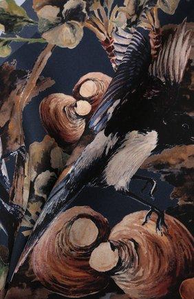 Мужской шелковый платок ETON коричневого цвета, арт. A000 33116 | Фото 2 (Материал: Шелк, Текстиль)