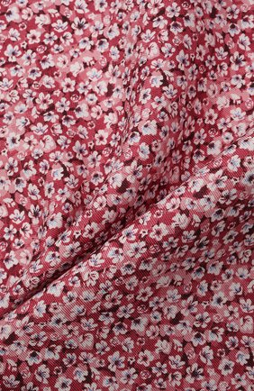 Мужской шелковый платок ETON красного цвета, арт. A000 33112 | Фото 2 (Материал: Текстиль, Шелк)