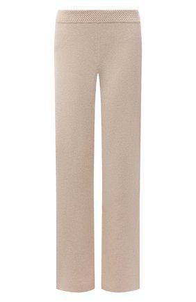 Женские кашемировые брюки LORO PIANA кремвого цвета, арт. FAL7040 | Фото 1 (Материал внешний: Кашемир, Шерсть; Длина (брюки, джинсы): Удлиненные; Стили: Кэжуэл; Кросс-КТ: Трикотаж; Силуэт Ж (брюки и джинсы): Прямые)