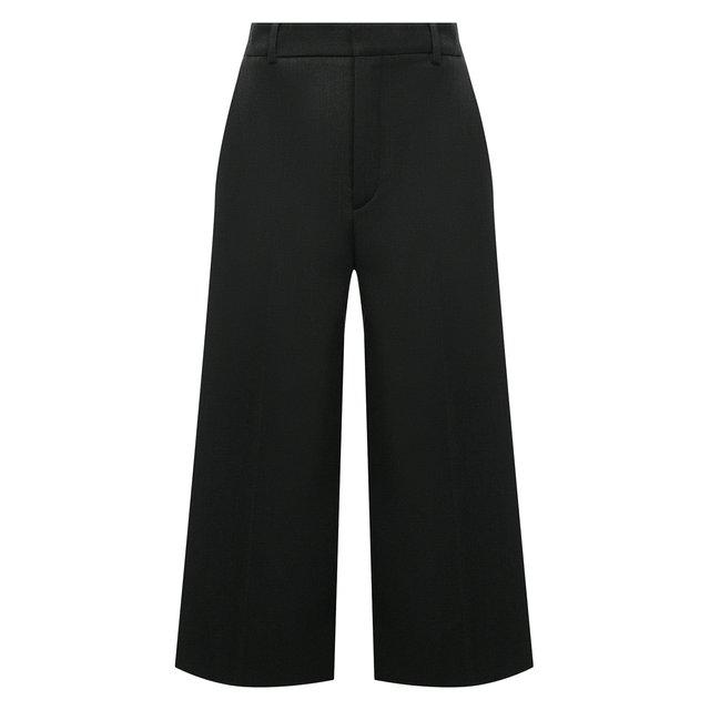 Шерстяные шорты-бермуды Saint Laurent