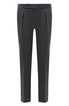 Мужские хлопковые брюки RALPH LAUREN серого цвета, арт. 798846767 | Фото 1 (Длина (брюки, джинсы): Стандартные; Материал внешний: Хлопок; Случай: Повседневный; Стили: Кэжуэл)