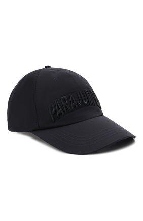Мужской бейсболка PARAJUMPERS темно-синего цвета, арт. HA05/PARAJUMPERS CAP   Фото 1 (Материал: Текстиль, Синтетический материал)