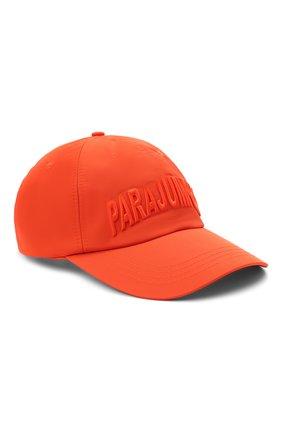 Мужской бейсболка PARAJUMPERS оранжевого цвета, арт. HA05/PARAJUMPERS CAP   Фото 1 (Материал: Текстиль, Синтетический материал)