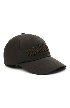 Мужской бейсболка PARAJUMPERS хаки цвета, арт. HA05/PARAJUMPERS CAP   Фото 1 (Материал: Синтетический материал, Текстиль)