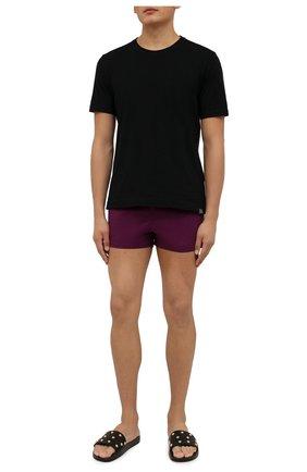 Мужские плавки-шорты VILEBREQUIN фиолетового цвета, арт. MANH9E00/861 | Фото 2 (Материал внешний: Синтетический материал; Принт: Без принта)