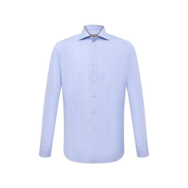 Хлопковая сорочка Canali 12245996