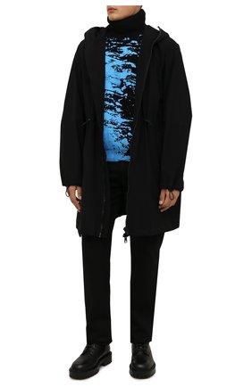 Мужские кожаные ботинки VIC MATIE черного цвета, арт. 1W3061U.W90W890101 | Фото 2 (Материал внутренний: Натуральная кожа; Подошва: Массивная; Мужское Кросс-КТ: Ботинки-обувь)