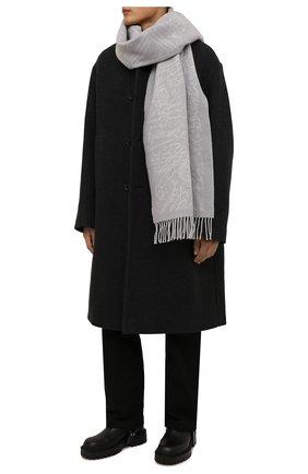 Мужские кожаные сапоги VIC MATIE черного цвета, арт. 1W3068U.W90W890101 | Фото 2 (Материал внутренний: Натуральная кожа; Подошва: Массивная; Мужское Кросс-КТ: Сапоги-обувь)