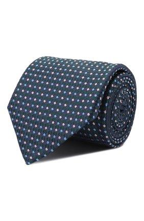 Мужской шелковый галстук ETON зеленого цвета, арт. A000 33081 | Фото 1 (Материал: Шелк, Текстиль; Принт: С принтом)