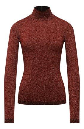 Женская водолазка STELLA MCCARTNEY бордового цвета, арт. 604059/S2286 | Фото 1 (Длина (для топов): Стандартные; Материал внешний: Вискоза; Рукава: Длинные; Женское Кросс-КТ: Водолазка-одежда; Стили: Кэжуэл)