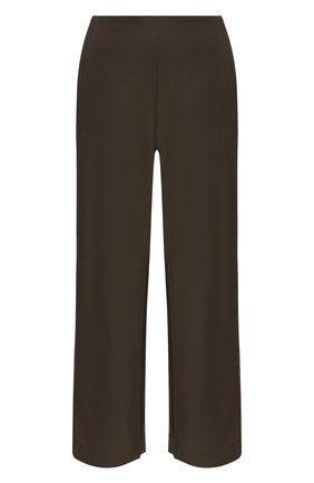 Женские шерстяные брюки ACNE STUDIOS коричневого цвета, арт. AK0409   Фото 1 (Длина (брюки, джинсы): Стандартные; Материал внешний: Шерсть; Женское Кросс-КТ: Брюки-одежда; Случай: Формальный; Силуэт Ж (брюки и джинсы): Широкие; Стили: Классический)
