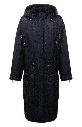 Мужская парка BALMAIN черного цвета, арт. WH1TJ031/X167 | Фото 1 (Материал внешний: Синтетический материал; Рукава: Длинные; Материал подклада: Синтетический материал; Длина (верхняя одежда): Длинные; Кросс-КТ: Куртка; Стили: Кэжуэл)