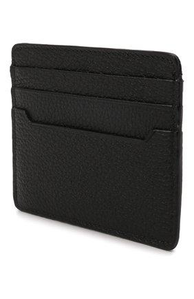Мужской кожаный футляр для кредитных карт BRIONI черного цвета, арт. 0HUM0L/01719 | Фото 2