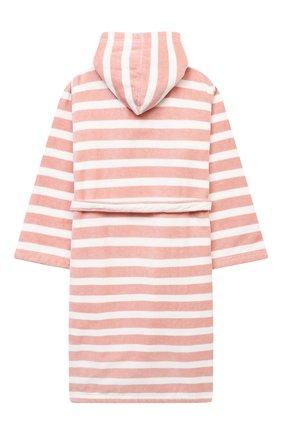 Детский хлопковый халат SANETTA светло-розового цвета, арт. 232678   Фото 2 (Материал внешний: Хлопок; Рукава: Длинные; Ростовка одежда: 12 лет   152 см, 16 лет   164 см)