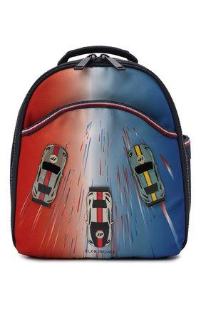 Детская рюкзак mini JEUNE PREMIER разноцветного цвета, арт. Ra021171 | Фото 1 (Материал: Текстиль)
