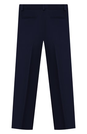 Детские брюки blue ZHANNA & ANNA синего цвета, арт. ZABL33062021 | Фото 2 (Материал внешний: Синтетический материал; Девочки Кросс-КТ: Брюки-одежда; Ростовка одежда: 7 лет | 122 см, 8 лет | 128 см, 9 лет | 134 см, 10 - 11 лет | 140 - 146см, 12 лет | 152 см, 13 - 15 лет | 158 см)