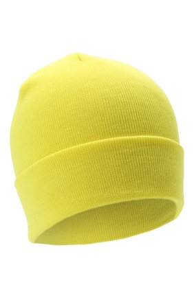 Детского шерстяная шапка IL TRENINO желтого цвета, арт. 21 4059/2L | Фото 1 (Материал: Шерсть)