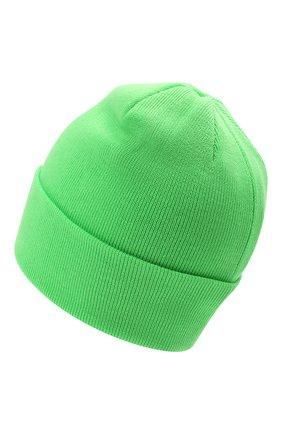 Детского шерстяная шапка IL TRENINO салатового цвета, арт. 21 4059/2L | Фото 2 (Материал: Шерсть)