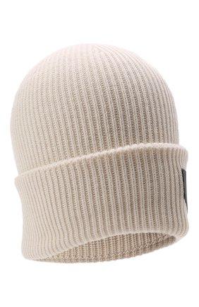Детского шапка EMPORIO ARMANI белого цвета, арт. 404646/1A456 | Фото 1 (Материал: Синтетический материал, Текстиль, Шерсть)