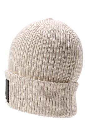 Детского шапка EMPORIO ARMANI белого цвета, арт. 404646/1A456 | Фото 2 (Материал: Синтетический материал, Текстиль, Шерсть)