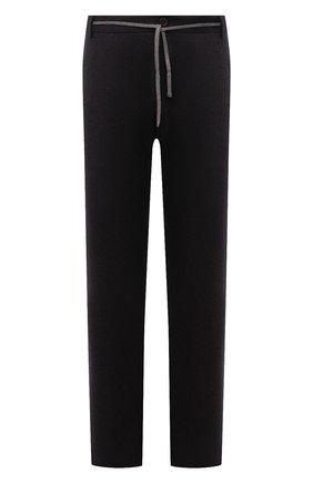 Мужские шерстяные брюки CANALI коричневого цвета, арт. V1659/AR03472/60-64   Фото 1 (Материал внешний: Шерсть; Случай: Повседневный; Стили: Кэжуэл; Длина (брюки, джинсы): Стандартные; Big sizes: Big Sizes)