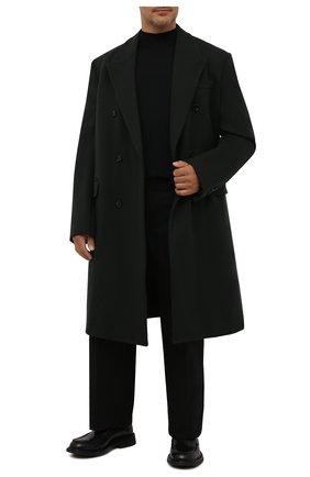 Мужской шерстяная водолазка SVEVO черного цвета, арт. 1314/3XSA21/MP13 | Фото 2 (Материал внешний: Шерсть; Мужское Кросс-КТ: Водолазка-одежда; Стили: Классический; Принт: Без принта; Рукава: Длинные; Длина (для топов): Стандартные; Big sizes: Big Sizes)