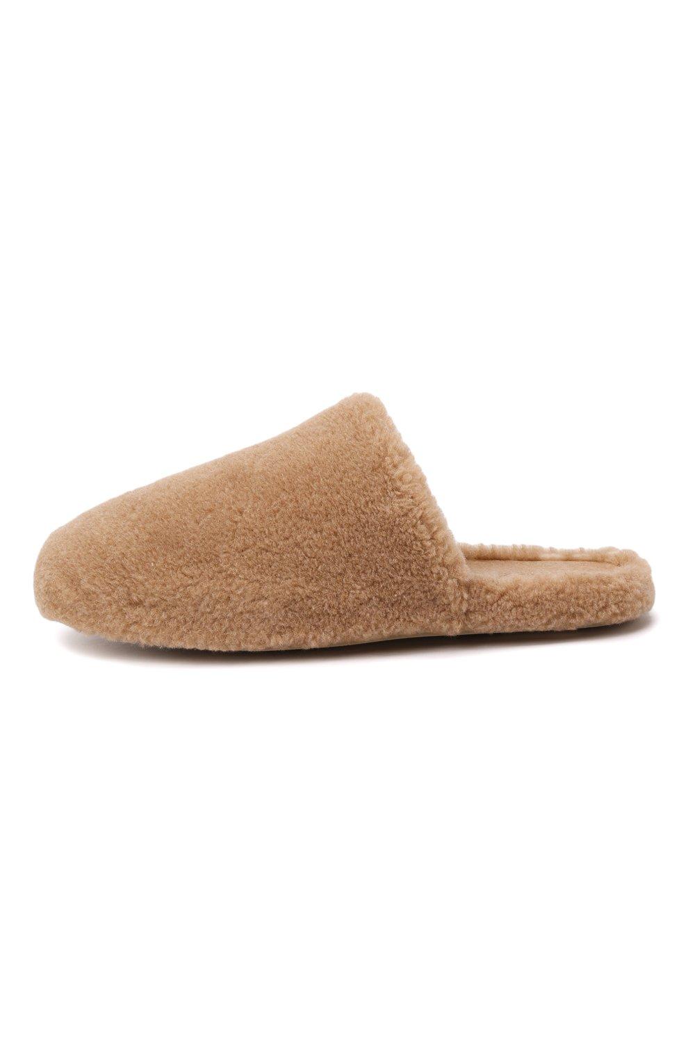 Мужского текстильные домашние туфли LORO PIANA бежевого цвета, арт. FAL9652 | Фото 4 (Материал внешний: Текстиль; Материал внутренний: Текстиль; Мужское Кросс-КТ: тапочки-обувь)