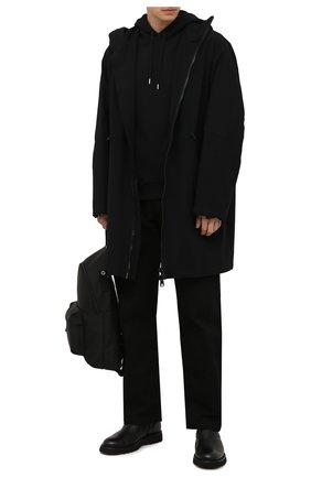 Мужские кожаные сапоги BARRETT черного цвета, арт. BASTIA-014.6/CERV0 | Фото 2 (Подошва: Плоская; Материал утеплителя: Натуральный мех; Мужское Кросс-КТ: Сапоги-обувь, зимние сапоги)