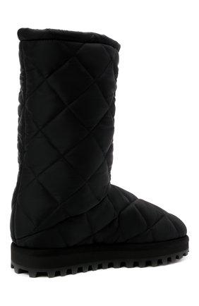 Мужские текстильные сапоги city boots DOLCE & GABBANA черного цвета, арт. CS1904/AQ125   Фото 5 (Материал внешний: Текстиль; Материал внутренний: Текстиль; Подошва: Массивная; Мужское Кросс-КТ: Сапоги-обувь)