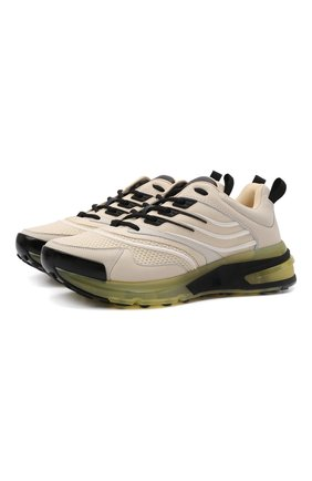 Мужские комбинированные кроссовки giv1 GIVENCHY кремвого цвета, арт. BH004WH0V7 | Фото 1 (Материал внешний: Текстиль; Материал внутренний: Натуральная кожа, Текстиль; Подошва: Массивная; Стили: Гранж)