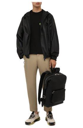 Мужские комбинированные кроссовки giv1 GIVENCHY кремвого цвета, арт. BH004WH0V7 | Фото 2 (Материал внешний: Текстиль; Материал внутренний: Натуральная кожа, Текстиль; Подошва: Массивная; Стили: Гранж)
