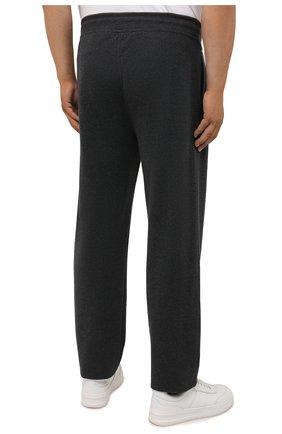 Мужской хлопковый спортивный костюм MOORER серого цвета, арт. SF-N0RCIA TUTA-CAD/M0UMA100059-TEPA308/60-68 | Фото 5 (Big sizes: Big Sizes; Рукава: Длинные; Кросс-КТ: Спорт; Материал внешний: Хлопок)