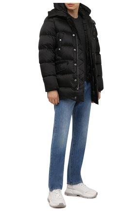 Мужская пуховик grima-sh MOORER черного цвета, арт. GRIMA-SH/M0UGI100336-TEPA174 | Фото 2 (Материал подклада: Синтетический материал; Материал внешний: Синтетический материал; Рукава: Длинные; Длина (верхняя одежда): До середины бедра; Материал утеплителя: Пух и перо; Кросс-КТ: Куртка; Мужское Кросс-КТ: пуховик-короткий; Стили: Кэжуэл)