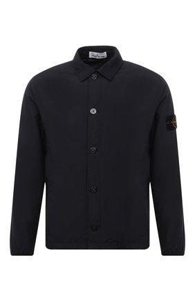 Мужская утепленная куртка STONE ISLAND темно-синего цвета, арт. 751511525 | Фото 1 (Материал подклада: Синтетический материал; Материал внешний: Хлопок, Синтетический материал; Рукава: Длинные; Длина (верхняя одежда): Короткие; Кросс-КТ: Куртка; Мужское Кросс-КТ: утепленные куртки; Стили: Кэжуэл)