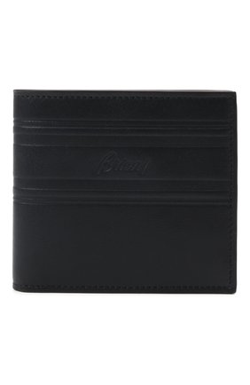 Мужской кожаное портмоне BRIONI темно-синего цвета, арт. 0HSV0L/P9721 | Фото 1