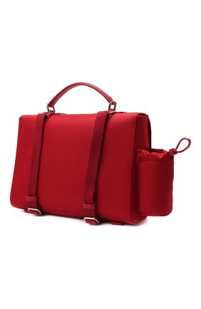 Детская портфель DOLCE & GABBANA красного цвета, арт. EM0106/A9416   Фото 2 (Материал: Текстиль)
