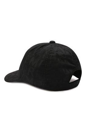 Детская бейсболка EMPORIO ARMANI черного цвета, арт. 404635/1A493 | Фото 2 (Материал: Текстиль, Синтетический материал)