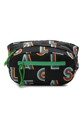 Детская поясная сумка STELLA MCCARTNEY черного цвета, арт. 603409/SRK05   Фото 1 (Материал: Текстиль)