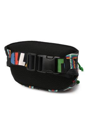 Детская поясная сумка STELLA MCCARTNEY черного цвета, арт. 603409/SRK05   Фото 2 (Материал: Текстиль)