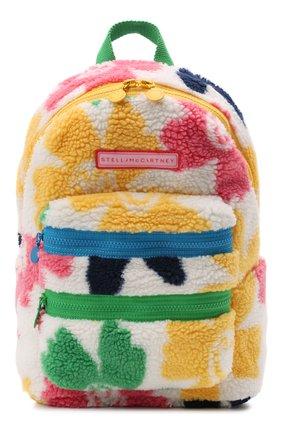 Детская рюкзак STELLA MCCARTNEY разноцветного цвета, арт. 603405/SRK63 | Фото 1 (Материал: Текстиль)