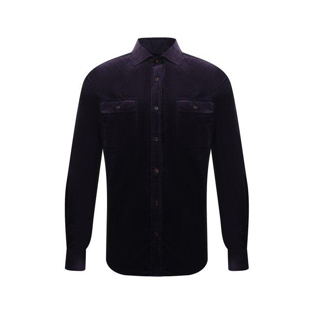 Хлопковая рубашка Ralph Lauren 12252639